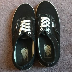 Classic black and white vans!